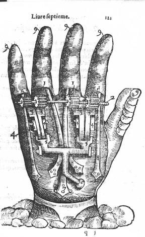 16th-century Prosthetics (1564) PDR HAND reszd